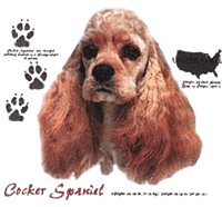 Cocker Spaniel T-Shirt - History Collection