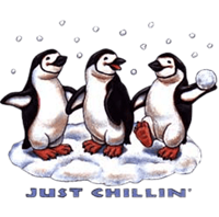 Shirts: Penguin - Just Chillin