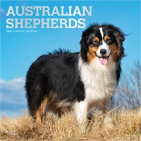 2012 Australian Shepherds Calendar Best Price