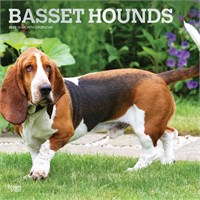 2012 Basset Hounds Calendar Best Price