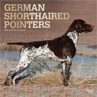 2012 German Shorthaired Pointers Calendar