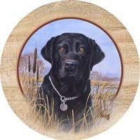 Black Lab Coasters