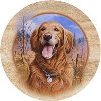 Golden Retriever Coasters