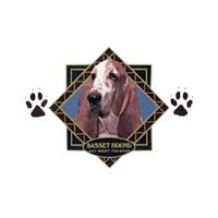 Basset Hound T-Shirt - Diamond Collection