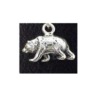Grizzly Bear Charm