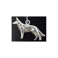 German Shepherd Charm