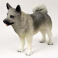 Norwegian Elkhound Figurine