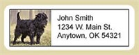5208 1790 Affenpinscher Address Labels