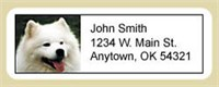 5210 1792 American Eskimo Dog Address Labels