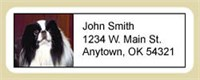 Japanese Chin Address Labels