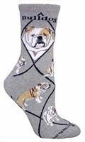 5355 Socks: Bulldog