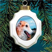 5419 Christmas Ornament: Borzoi