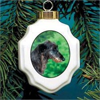 Scottish Deerhound Ornament