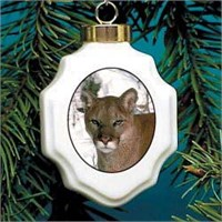 Cougar Christmas Ornament