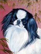 Japanese Chin Flag