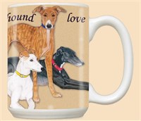 5907 Mug: Greyhound