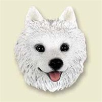 6157 American Eskimo Dog Magnet