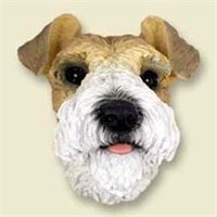 6208 Magnet: Fox Terrier Wire