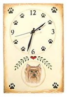 Yorkshire Terrier Clock