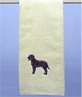 7253 Hand Towel: Chocolate Lab