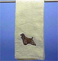 Cocker Spaniel Hand Towel