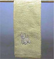 West Highland Terrier Hand Towel