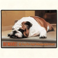 Bulldog Floor Mat