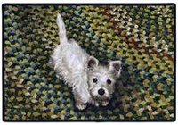West Highland Terrier Floormat