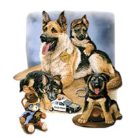 7448 Shirts: German Shepherd