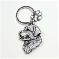 Newfoundland Pewter Key Chain