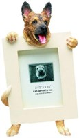 German Shepherd Picture Frame