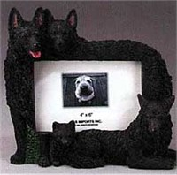 7745 Schipperke Picture Frame