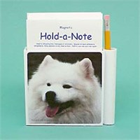 American Eskimo Dog Hold-a-Note