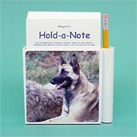 Belgian Malinois Hold-a-Note