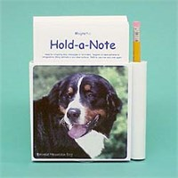 7963 Hold a Note: Bernese Mountain Dog