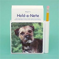 Border Terrier Hold-a-Note