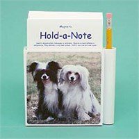 Chinese Crested Hold-a-Note