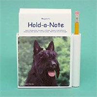 8014 Scottish Terrier Hold a Note