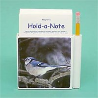 Blue Jay Note Holder