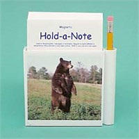 Brown Bear Hold-a-Note