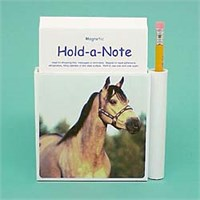 Buckskin Horse Note Holder