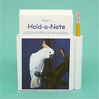 Cockatoo Note Holder