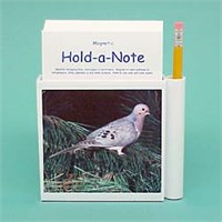 Dove Note Holder