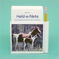 Paint Horse Note Holder