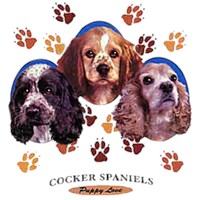 Cocker Spaniel T-Shirt - Puppies and Paws