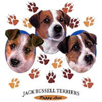 Jack Russell Terrier T-Shirt - Puppies and Paws