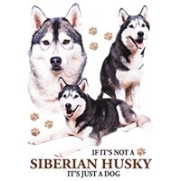 Siberian Husky T-Shirt - Puppies and Paws