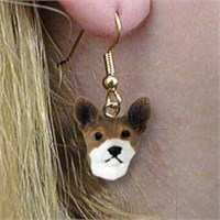Basenji Authentic Earrings