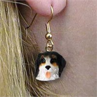 8963 Bernese Mountain Dog Earrings