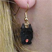 8971 Jewelry   Earrings: Bouvier des Flandres